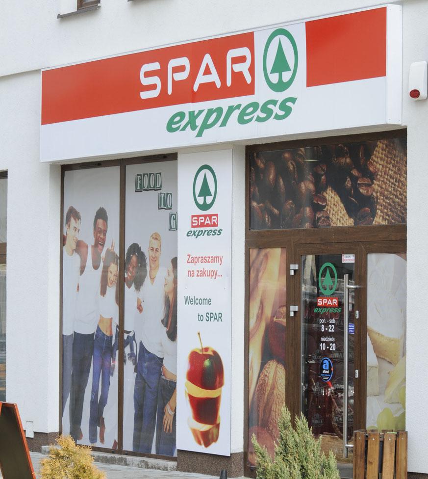 Sklep SPAR express w Lublinie